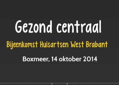 Bijeenkomst huisartsen West Brabant
