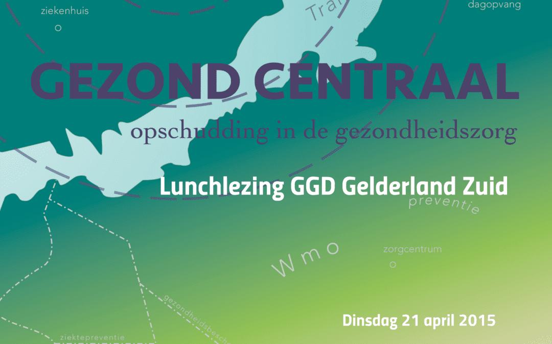 Lunchlezing GGD Gelderland Zuid