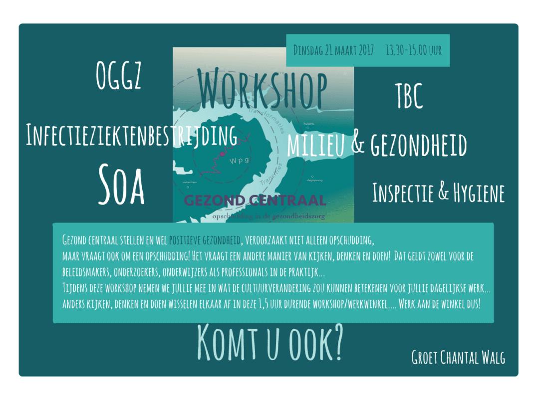 workshop gezond centraal