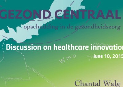 Discussion on healthcare innovation