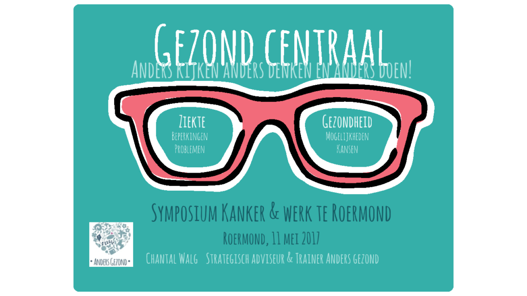 Symposium kanker & werk Roermond