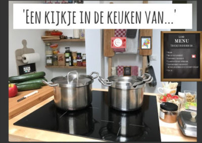 Een kijkje in de keuken van…
