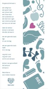 Boekenlegger Sinterklaas attentie Anders Gezond 2019